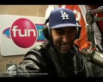 Interview la fouine Guillaume radio libre sur Fun radio