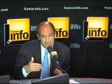 Eric Woerth, 19/05/2010, l'invité de france info