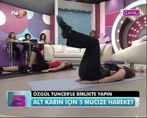 16.04.2010 .TV8 ÖZLEM YILDIZ-ÖZGÜL TUNCER-ALT KARIN BÖLGESİ