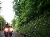 caméra embarquée moto sur les routes de la Drôme Provençale