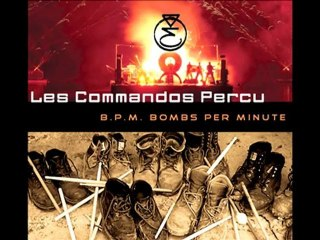 Trailer du nouvel album des Commandos Percu