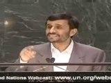 Le formidable discours de paix d'Ahmadinejad à l'ONU en Fr 2
