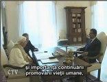 Benedict XVI: Audienţa Preşedintele Republicii Dominicane