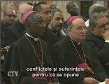 Benedict XVI: Biserica, întotdeauna evanghelizatoare