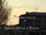 Tro Breizh & Ménez 2010 : Les Jeunes UDB en débat à Brest