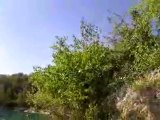Makaku & Cyril , Lac De Mours Plongeon