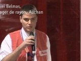 Anthony Belmas, Manager de rayon, Auchan