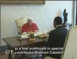 Benedict XVI: În audienţă preşedintele Republicii Congo