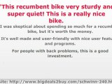 Schwinn 240 Recumbent Exercise Bike Review