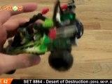LEGO 8864 : LEGO Desert of Destruction World Racers Review