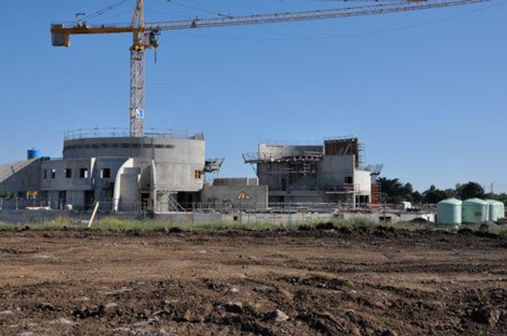 CAP D'AGDE - 2010 - Visite de chantier du centre aquatique du Cap d'Agde