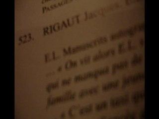 Rigaut à Drouot (lot 523)