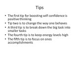 Boosting Self confidence-The 5 Secrets To Help To Boost ...