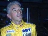 le pilote PATRICK PIVATO au volant d'une F1 à l'I-Way à Lyon