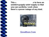 Uninterruptible Power Supply Is A Necessity