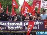 Retraites: plus de dix mille manifestants à Lyon