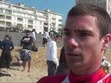 Mathieu Crepel - Parrain des ramassages de déchets 2010