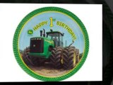 John Deere Tractor First Birthday Party Supplies