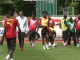 Cameroon's 'Indomitable Lions' hope to roar in South Africa