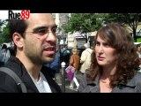 Manifestation retraites : deux étudiants futurs enseignants