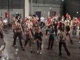 Biennale de LYON 2010 CAPI Répétition danse Youd better pink