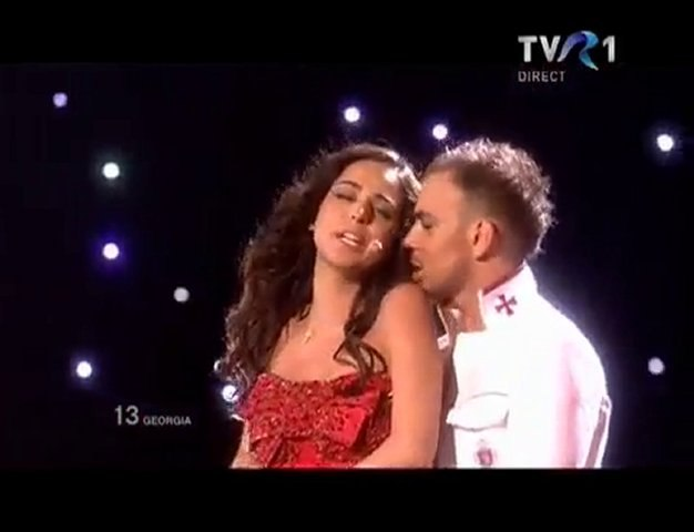 Sopho Nizharadze, Shine (Georgia Live Eurovision Final 2010)