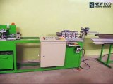 Line for manufacturing of perforated aluminum corner beads