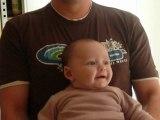 Mes 1ers rires avec papa !!!