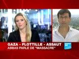 Assaut de Tsahal contre la flottille d'aide pour Gaza