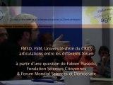 CRID 7. De Mexico au Forum Mondial Social de Dakar en 2011