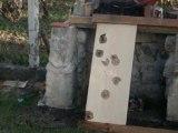Carabine à air comprimé fabrication maison