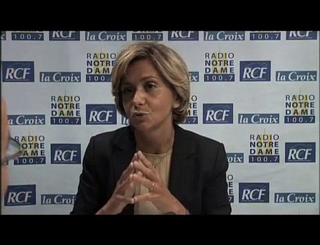 Valérie Pecresse - Face aux Chrétiens partie 3 - 03/06/2010