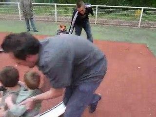 hugo au parc