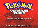 Pokémon Version Rubis Intro