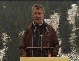 Discours d'introduction de Didier Magnin / Glières 2010
