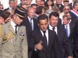 Inauguration Stèle 150e du Rattachement Nice à la France