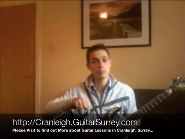Guitar Lessons Cranleigh