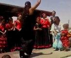 gitan et gitane qui danse flamenco