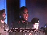 les Noirs des USA  honorent Kemi Seba (Kemiour A. Shabazz)