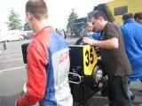 video reglage moteur karting superkart 250  magny cours 2010