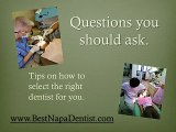 Best Napa Dentists, general dentistry