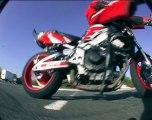 Stunt Bike Power Slides & Stoppies