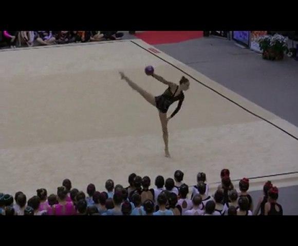 """Démonstration Delphine Ledoux Ballon """"France"""" Tourcoing 2010"""