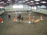 Premier concours de saut d'obstacle
