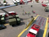 Envoi de 110 véhicules de protection et de secours en Haïti