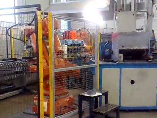 Assembly plant and resistance welding tubular chairs ISO