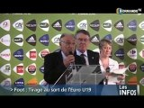 Football : Tirage au sort de l'Euro U19