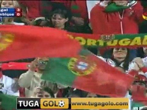 portugal mozambique (3-0 but de almeira) 8/06/10