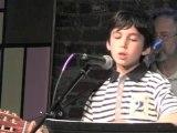 Alex Stern perfoming Halelujah by Leonard Cohen