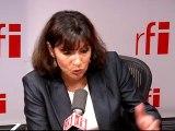 Anne Hidalgo, première adjointe au maire de Paris